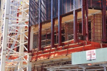 leonard street shoring project